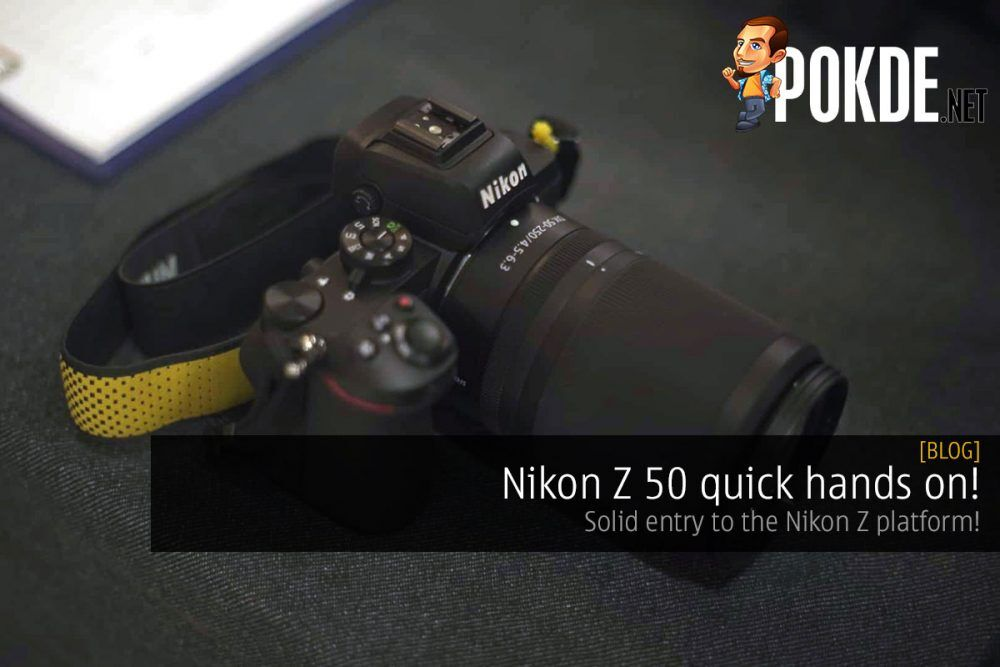 Nikon Z 50 quick hands on! Solid entry to Z system! 19