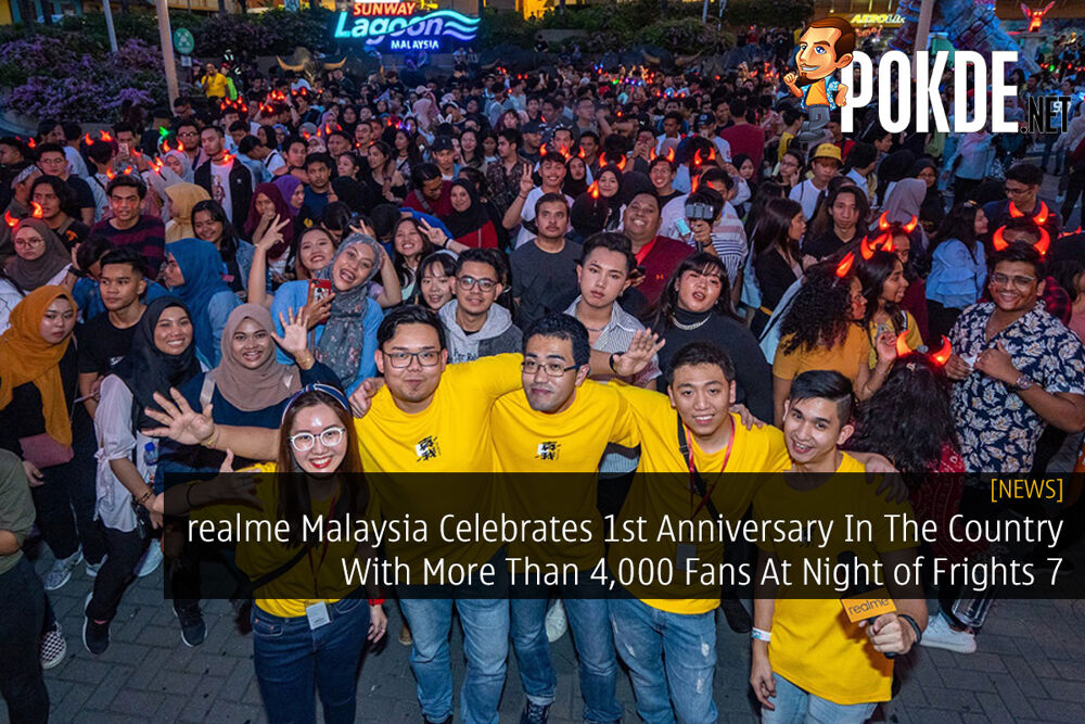 realme Malaysia Celebrates 1st Anniversary In The Country With More Than 4,000 Fans At Night of Frights 7 22