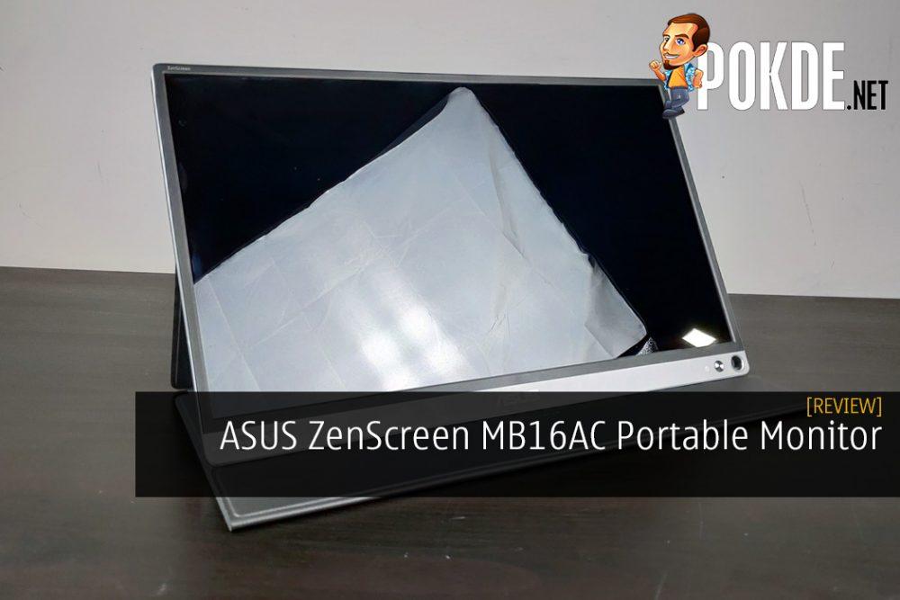 ASUS ZenScreen MB16AC Portable Monitor Review