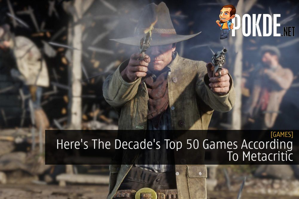 Here's The Decade's Top 50 Games According To Metacritic 25