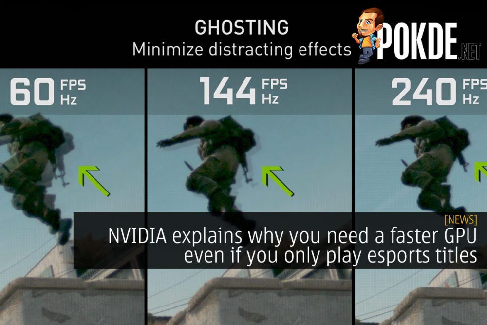 NVIDIA explains why you need a faster GPU even if you only play esports titles 22