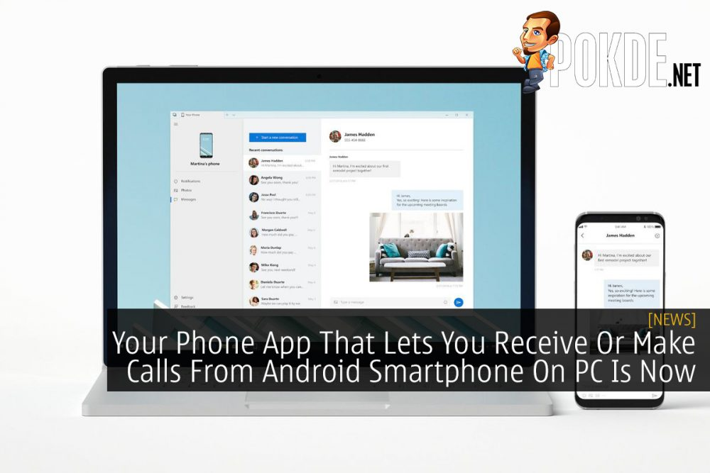 Your Phone App That Lets You Receive Or Make Calls From Android Smartphone On PC Is Now Available 27