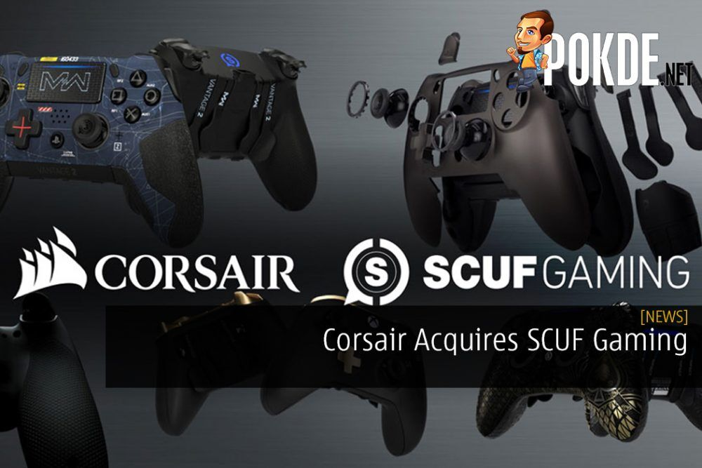 Corsair Acquires SCUF Gaming - New Gamepads Coming Soon?