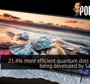 21.4% more efficient quantum dots display being developed by Samsung 22