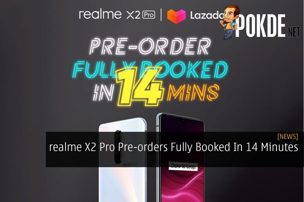 realme X2 Pro Pre-orders Fully Booked In 14 Minutes 24