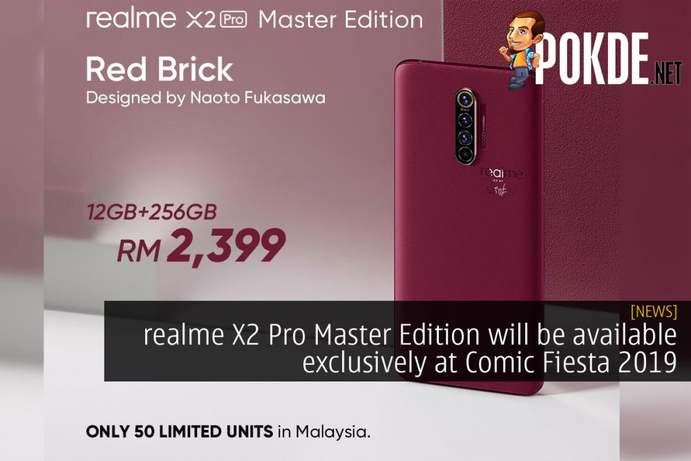 realme X2 Pro Master Edition will be available exclusively at Comic Fiesta 2019 22