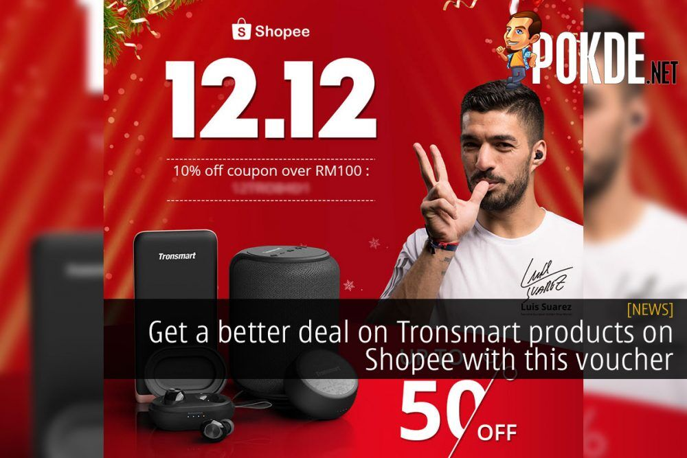Get a better deal on Tronsmart products on Shopee with this voucher 23