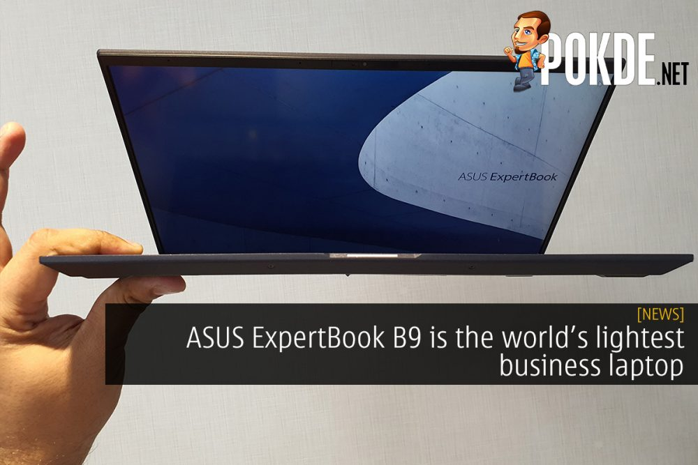 ASUS ExpertBook B9 is the world's lightest business laptop 18