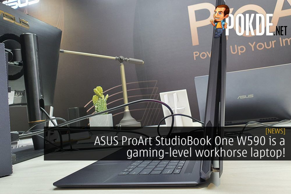 ASUS ProArt StudioBook One W590 is a gaming-level workhorse laptop! 18