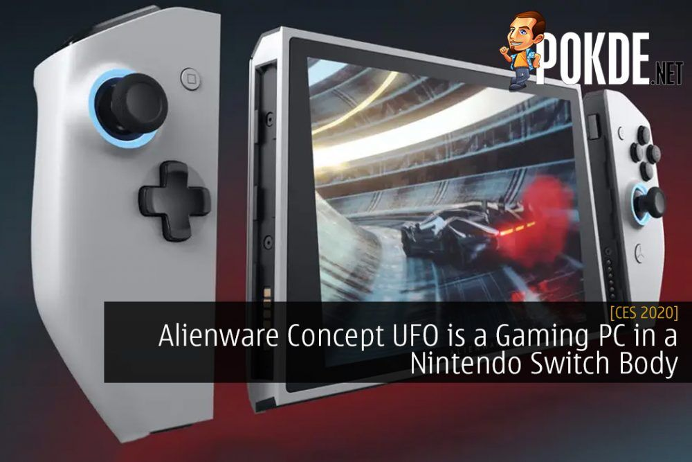 CES 2020: Alienware Concept UFO is a Gaming PC in a Nintendo Switch Body