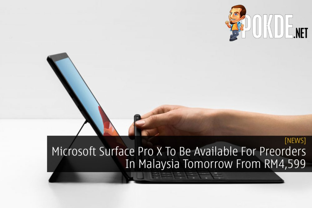 Microsoft Surface Pro X To Be Available For Preorders In Malaysia Tomorrow From RM4,599 22