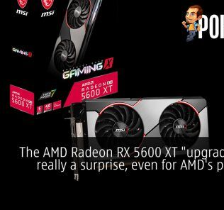 """The AMD Radeon RX 5600 XT """"upgrade"""" was really a surprise, even for AMD's partners 28"""