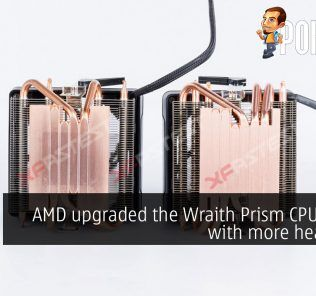 [UPDATED] AMD upgraded the Wraith Prism CPU cooler with more heatpipes 33