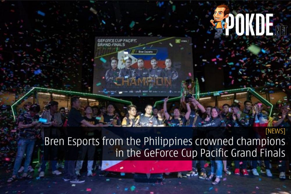 Bren Esports from the Philippines crowned champions in the GeForce Cup Pacific Grand Finals 26