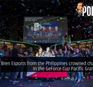Bren Esports from the Philippines crowned champions in the GeForce Cup Pacific Grand Finals 25