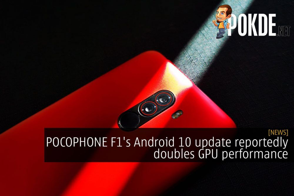 POCOPHONE F1's Android 10 update reportedly doubles GPU performance 21