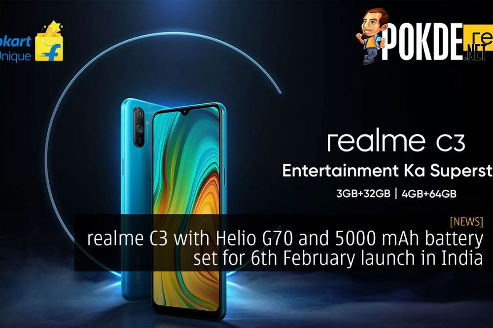 realme C3 with Helio G70 and 5000 mAh battery set for 6th February launch in India 19