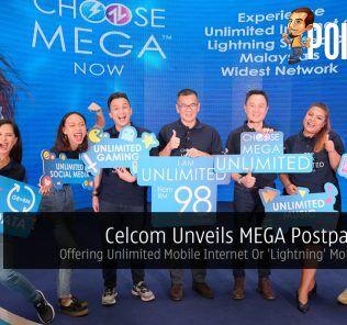 Celcom Unveils MEGA Postpaid Plan — Offering Unlimited Mobile Internet Or 'Lightning' Mobile Speeds 30