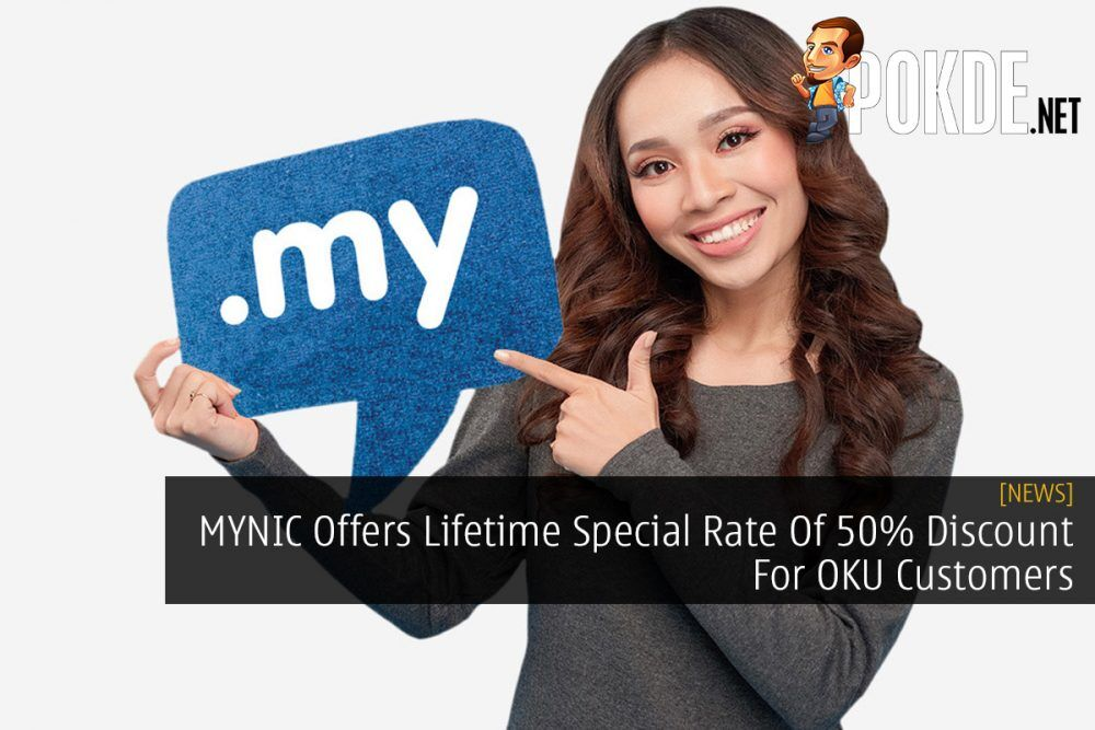 MYNIC Offers Lifetime Special Rate Of 50% Discount For OKU Customers 24