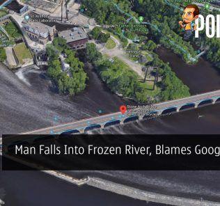 Man Falls Into Frozen River, Blames Google Maps 20
