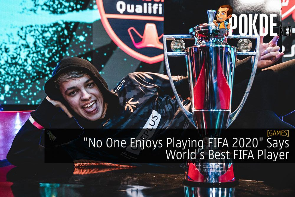 """""""No One Enjoys Playing FIFA 2020"""" Says World's Best FIFA Player 22"""