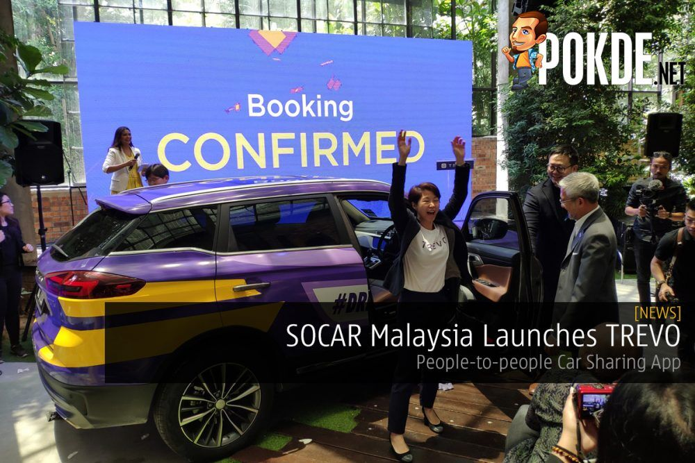SOCAR Malaysia Launches TREVO — People-to-people Car Sharing App 23