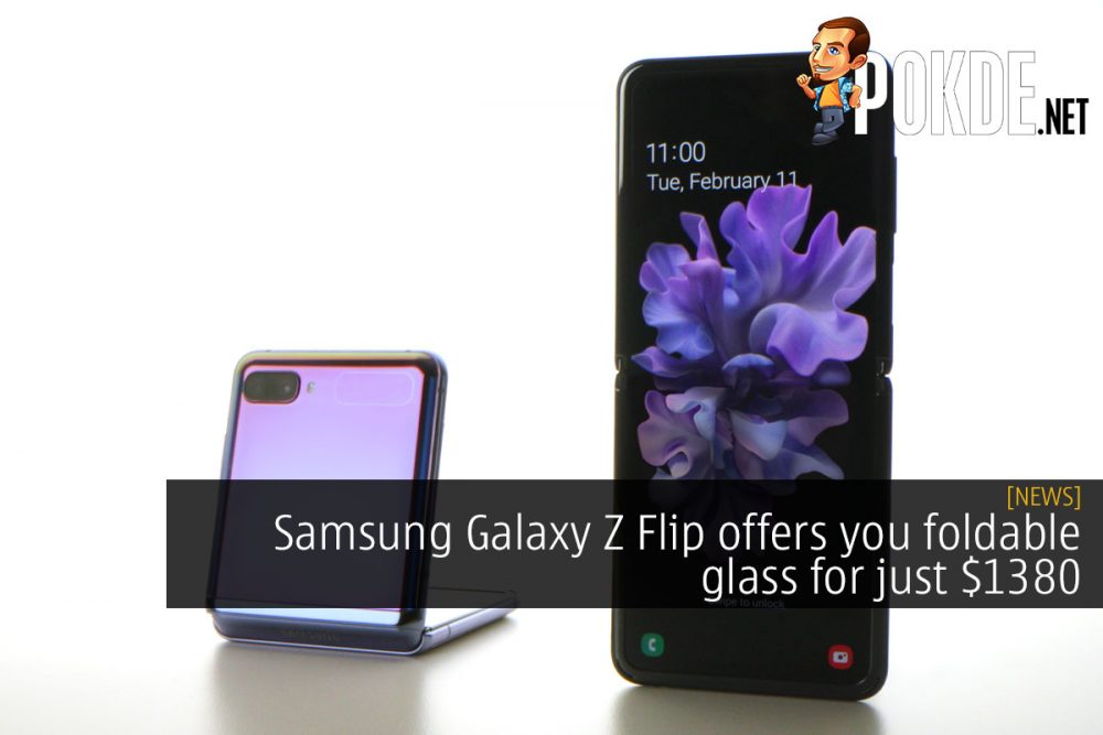 Samsung Galaxy Z Flip offers you foldable glass for just $1380 20