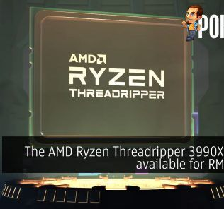 The AMD Ryzen Threadripper 3990X is now available at RM16 999 24