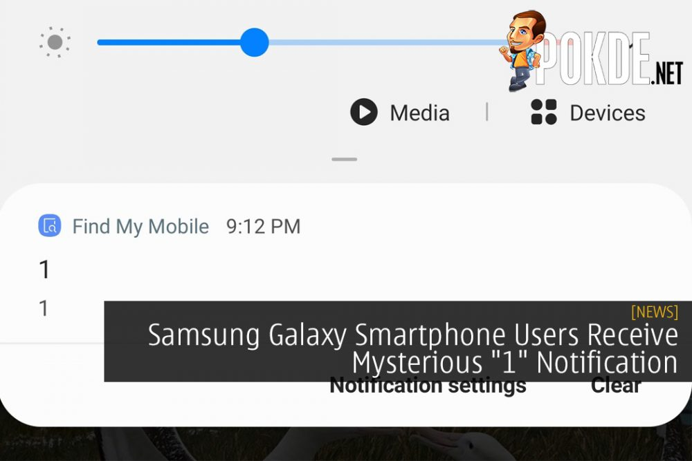 "Samsung Galaxy Smartphone Users Receive Mysterious ""1"" Notification - A Teaser?"