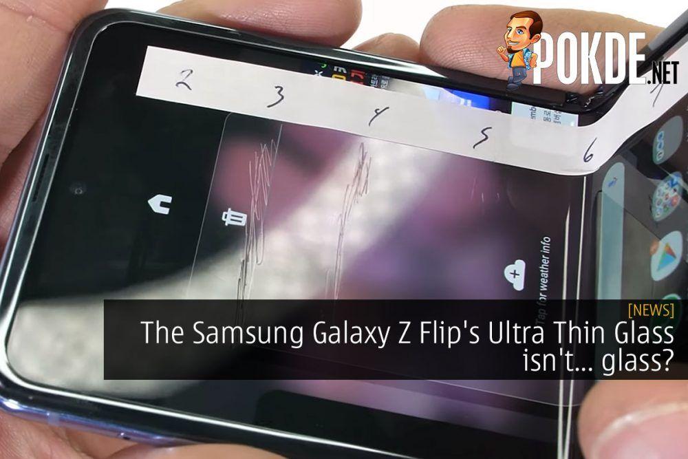 The Samsung Galaxy Z Flip's Ultra Thin Glass isn't... glass? 23
