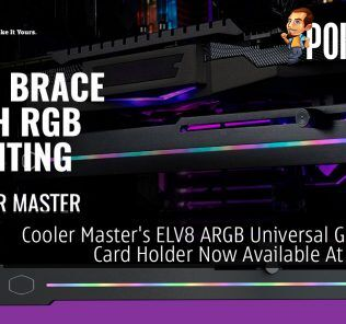 Cooler Master ELV8 ARGB Universal Graphics Card Holder Now Available At RM109 33