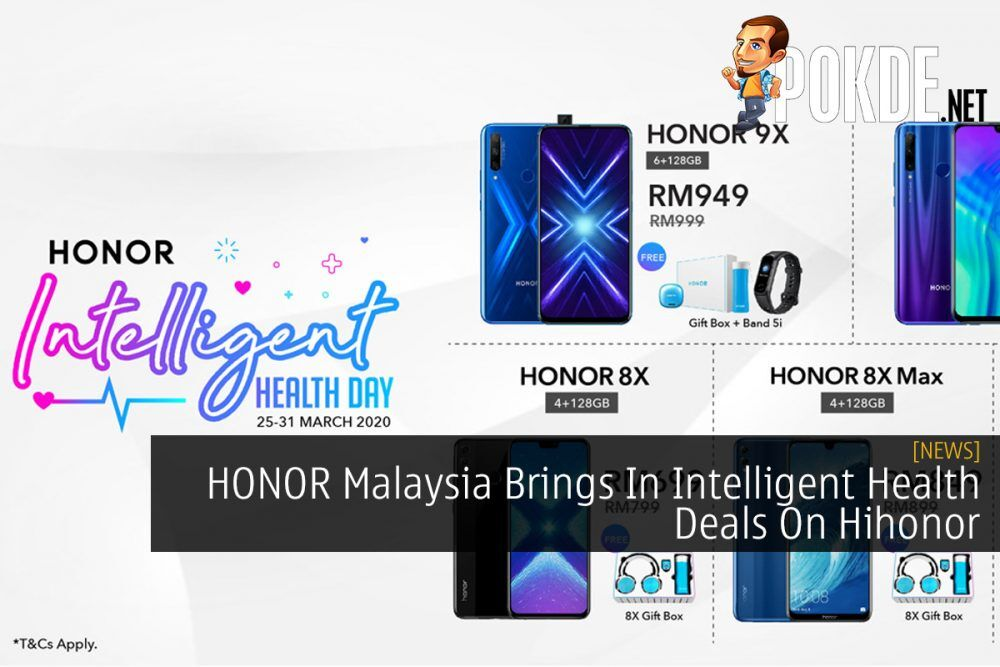 HONOR Malaysia Brings In Intelligent Health Deals On Hihonor 23