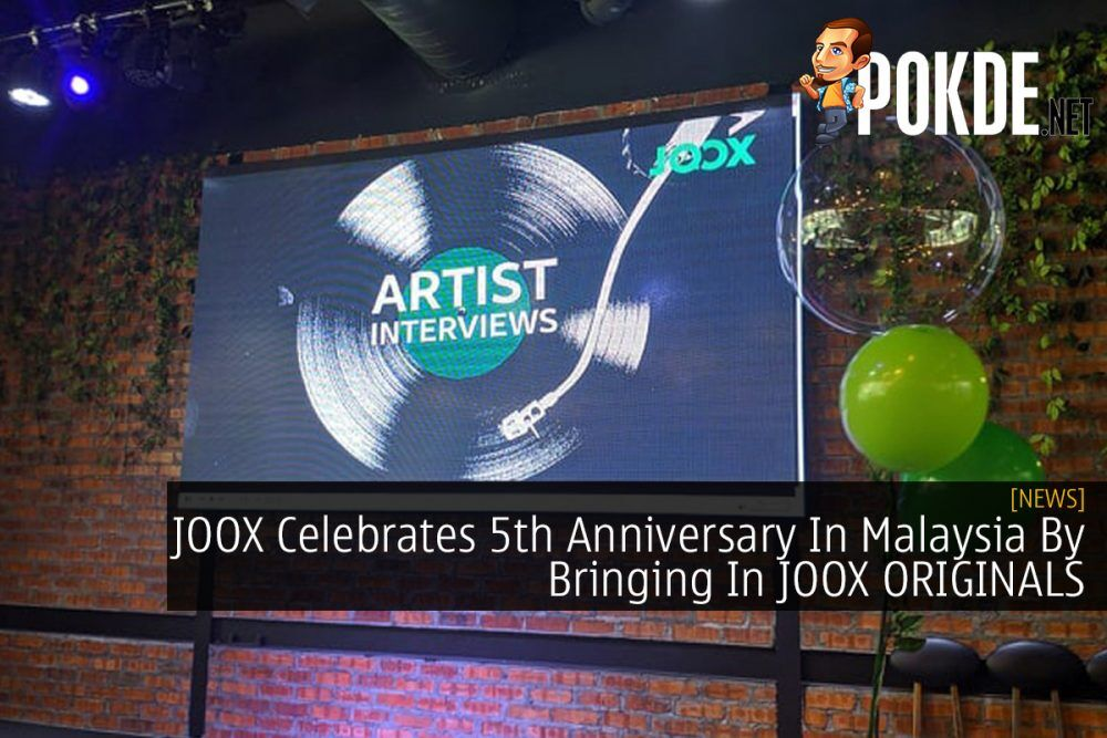 JOOX Celebrates 5th Anniversary In Malaysia By Bringing In JOOX ORIGINALS 20
