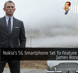 Nokia's 5G Smartphone Set To Feature In New James Bond Movie 23