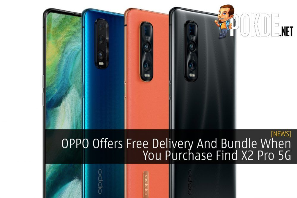 OPPO Offers Free Delivery And Bundle When You Purchase Find X2 Pro 5G 22
