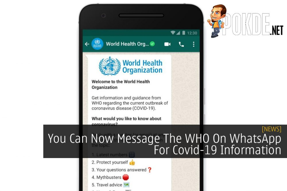 You Can Now Message The WHO On WhatsApp For Covid-19 Information 20