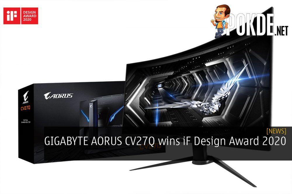 GIGABYTE AORUS CV27Q wins iF Design Award 2020 24