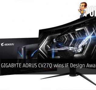 GIGABYTE AORUS CV27Q wins iF Design Award 2020 23