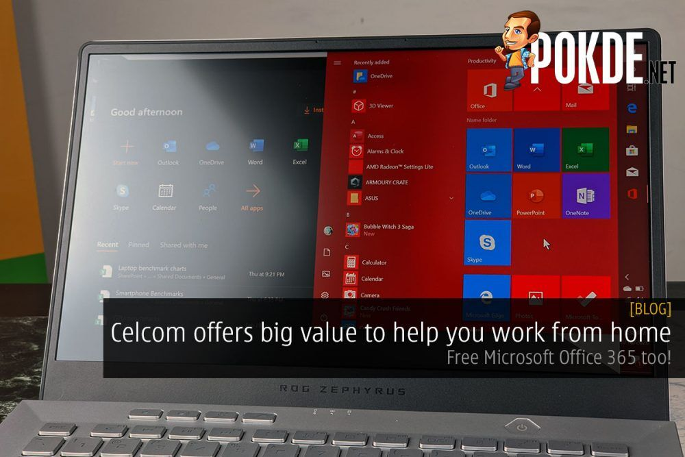 Celcom offers big value to help you work from home — Free Microsoft Office 365 too! 21