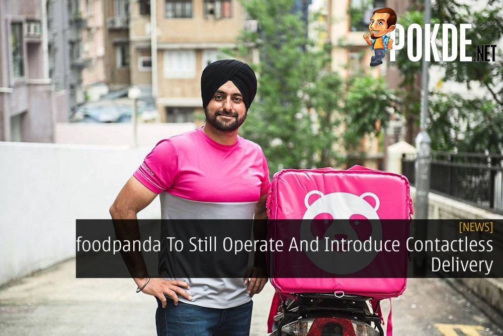 foodpanda To Still Operate And Introduce Contactless Delivery 19