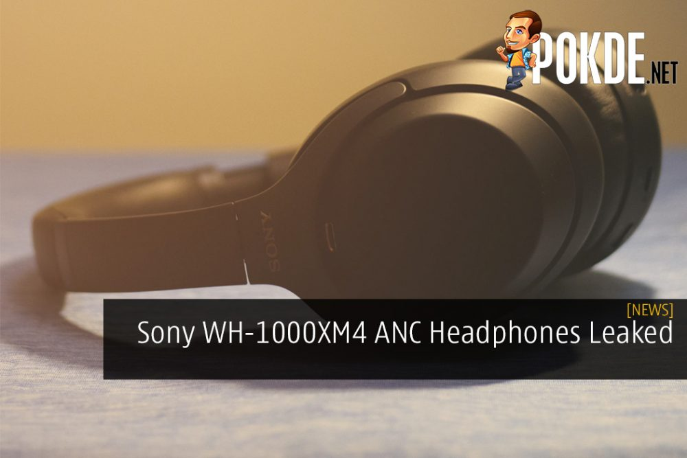 Sony WH-1000XM4 ANC Headphones Leaked