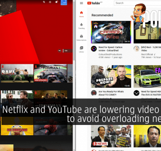 Netflix and YouTube are lowering video quality to avoid overloading networks 19