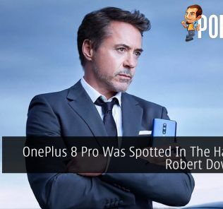 OnePlus 8 Pro Was Spotted In The Wonderful Hands of Robert Downey Jr
