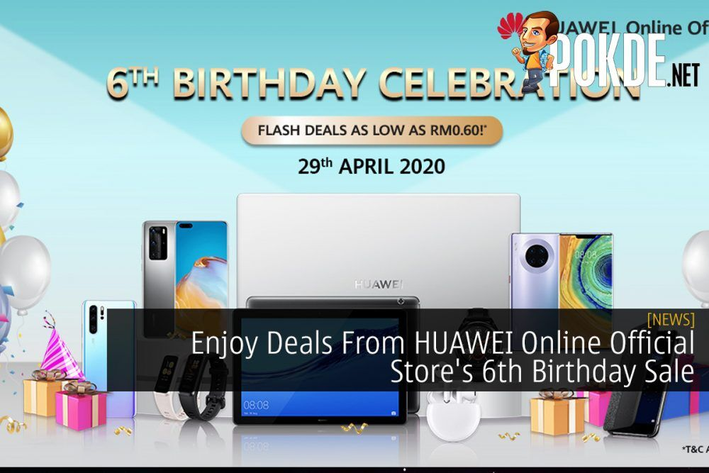 Enjoy Deals From HUAWEI Online Official Store's 6th Birthday Sale 21