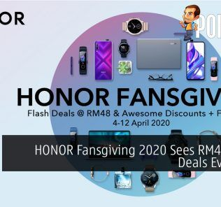 HONOR Fansgiving 2020 Sees RM48 Flash Deals Everyday 24