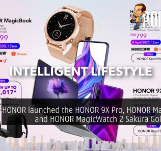 HONOR launched the HONOR 9X Pro, HONOR MagicBook and HONOR MagicWatch 2 Sakura Gold today! 32
