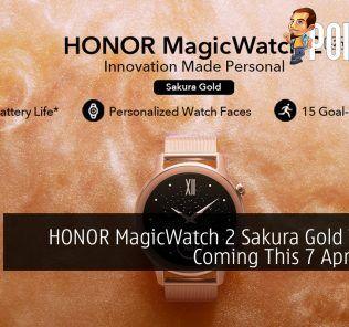 HONOR MagicWatch 2 Sakura Gold Variant Coming This 7 April 2020 29