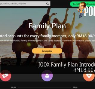 JOOX Family Plan Introduced At RM18.90/month 23