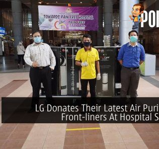 LG Donates Their Latest Air Purifiers To Front-liners At Hospital Serdang 47