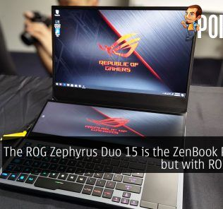 The ROG Zephyrus Duo 15 is the ZenBook Pro Duo but with ROG's DNA 26